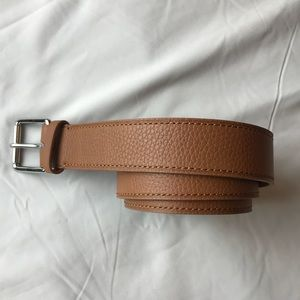 NEW POLO Ralph Lauren Pebbled Leather Belt S 30""